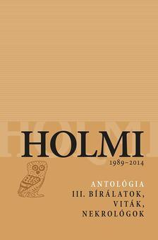 - - Holmi-antológia 3.