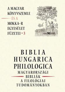 _ - BIBLIA HUNGARICA PHILOLOGICA