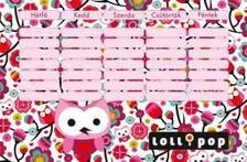 6183 - Órarend nagy Lollipop Owls on Tree 15312505