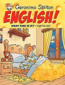 Geronimo Stilton - English! What Time is it? - Hány óra van?