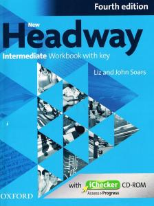 LIZ & JOHN SOARS - NEW HEADWAY INT 4TH ED WB WITH KEY