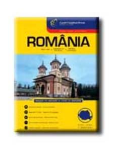 Cartographia - ROMÁNIA AUTÓATLASZA - CART. -