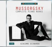 MUSSORGSKY - COPLETE PIANO WORKS,2 CD