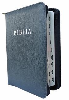 Revideált új fordítás - BIBLIA Revideált új fordítás (2014) Ezüst élmetszéssel, cipzáras bőrtokban