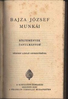 Bajza József - Bajza József munkái [antikvár]
