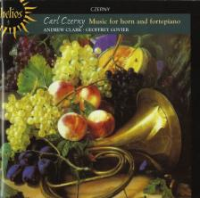 CZERNY - MUSIC FOR HORN AND FORTEPIANO CD