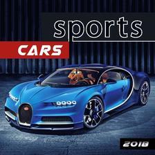 SmartCalendart Kft. - SG Naptár 2018 Sport Car 33x33 cm