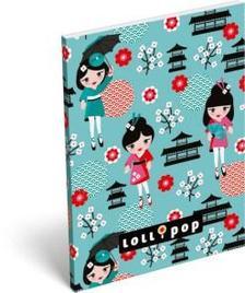 6855 - Notesz papírfedeles A/7 Lollipop Baby Doll 16316818