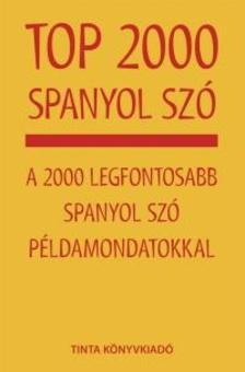 - Top 2000 spanyol szó