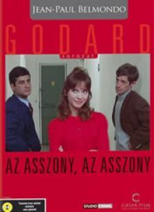 GODARD, JEAN-LUC - AZ ASSZONY, AZ ASSZONY DVD BELMONDO, KARINA, BRIALY