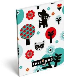 13576 - Notesz papírfedeles A/7 Lollipop Deer 17316819