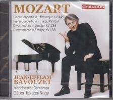 MOZART - PIANO CONCERTOS - DIVERTIMENTOS CD JEAN-EFFLAM BAVOUZET
