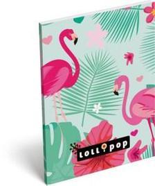 13308 - Notesz papírfedeles A/7 Lollipop Flamingo 17316827