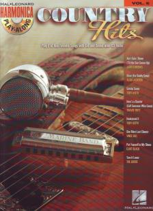 HARMONICA PLAY-ALONG VOL. 6: COUNTRY HITS WITH TAB AND SOUND-ALIKE CD TRACKS