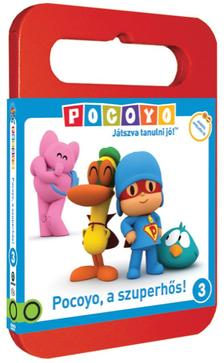 Zinkia Entertainment - POCOYO DVD 3. - Pocoyo, a szuperhős!
