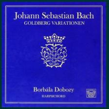 Bach - GOLDBERG VARIATIONS CD DOBOZY BORBÁLA