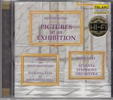 MOUSSORGSKY - PICTURES AT AN EXHIBITION CD