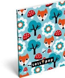 6856 - Notesz papírfedeles A/7 Lollipop Foxy 16316814