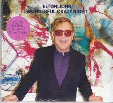 - WONDERFUL CRAZY NIGHT CD ELTON JOHN (DELUXE EDITION)