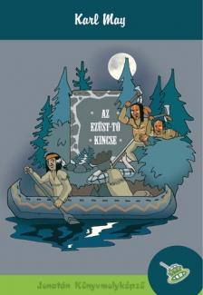 Karl May - Az Ezüst-tó kincse - KEMÉNY BORÍTÓS