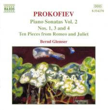 PROKOFIEV - PIANO SONATAS NO.1,3,4 CD BERND GLEMSER