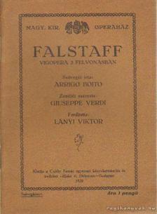 Boito, Arrigo - Falstaff [antikvár]