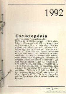 Boross Anna - Cambridge enciklopédia 1992 [antikvár]