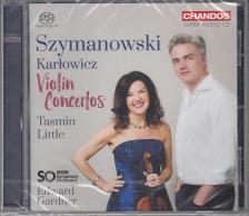 SZIYMANOWSKI, KARLOWICZ - VIOLIN CONCERTOS CD TASMIN LITTLE