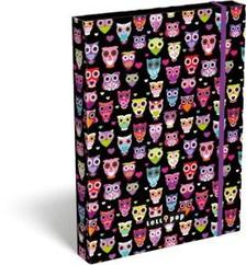 13374 - Füzetbox A/5 Lollipop Dark Owl 17340222