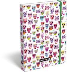 13375 - Füzetbox A/5 Lollipop Light Owl 17340223