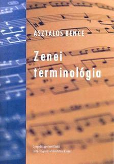 ASZTALOS BENCE - Zenei terminológia