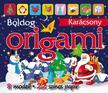 - Boldog karácsony - origami
