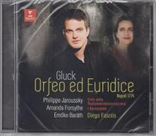 GLUCK - ORFEO ED EURIDICE VERSION OF 1774 CD JAROUSSKY, FORSYTHE, BARÁTH