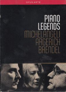 PIANO LEGENDS 5DVD ARGERICH,BRENDEL,MICHELANGELI