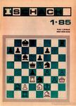 - Schach 1985/1 [antikvár]