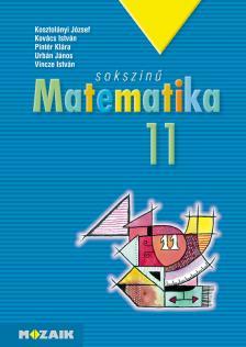 KOSZTOLÁNYI-KOVÁCS-PINTÉR- - MS-2311/K SOKSZÍNŰ MATEMATIKA 11. KÖTÖTT
