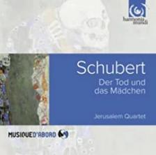 SCHUBERT - DEATH AND THE MAIDEN CD JERUSALEM QUARTET