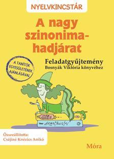 Csájiné Knézics Anikó - A nagy szinonima-hadjárat - Feladatgyűjtemény Bosnyák Viktória könyvéhez
