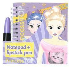 Princess TOP - Notepad and lipstick pen