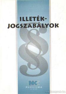 dr. Szilner György - Illetékjogszabályok 2009. január 23. [antikvár]