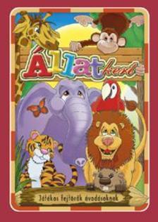 - Állatkert - Játékos fejtörő óvodásoknak