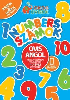 Ovis Angol - Játékos angol nyelvű foglalkoztató 4-7 éves gyerekeknek- Numbers-számok