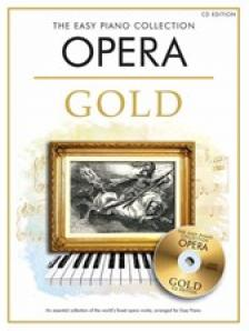 OPERA GOLD, THE EASY PIANO COLLECTION + CD
