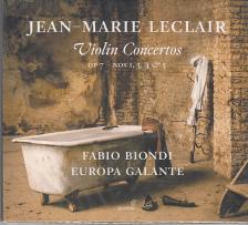 LECLAIR - VIOLIN CONCERTOS,CD