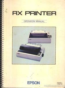 RX Printer [antikvár]