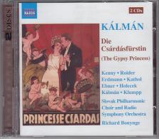 KÁLMÁN IMRE - DIE CSÁRDÁSFÜRSTIN CD