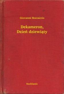 Giovanni Boccaccio - Dekameron, Dzieñ dziewi±ty [eKönyv: epub, mobi]