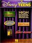 - DISNEY POP AND ROCK FOR TEENS FOR VOICE, PIANO AND GUITAR WITH CD