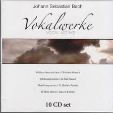 Bach - VOKALWERKE 10 CD-SET BACH (VOCAL WORKS)