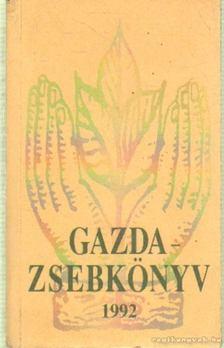 Almási István (szerk.), Márton János - Gazdazsebkönyv 1992. [antikvár]
